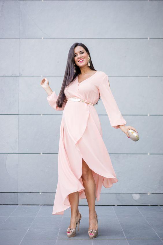 Lovely fashion for vestidos para embarazadas, Wrap dress