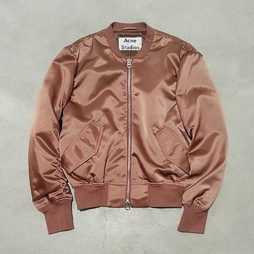 Pink xo bomber jacket, Flight jacket