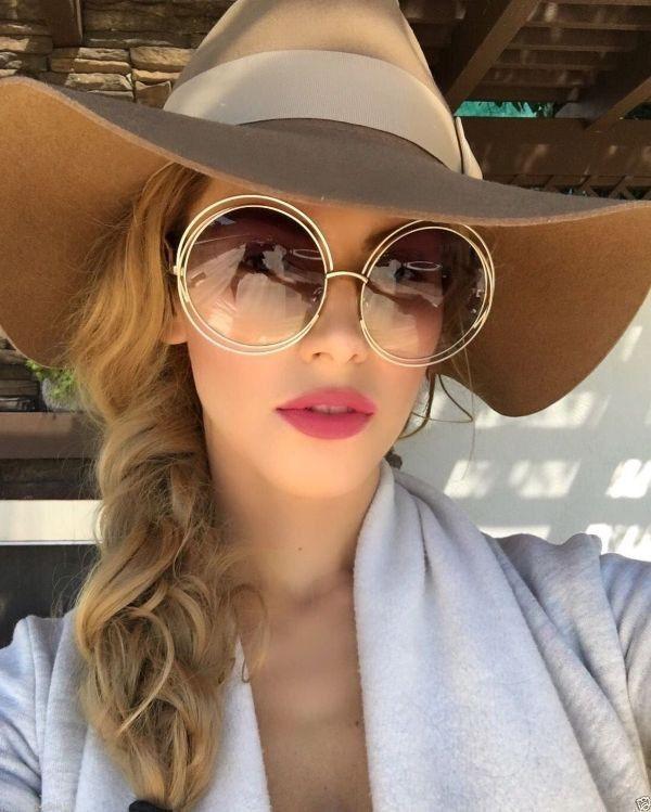 Big round sunglasses women, Aviator sunglasses