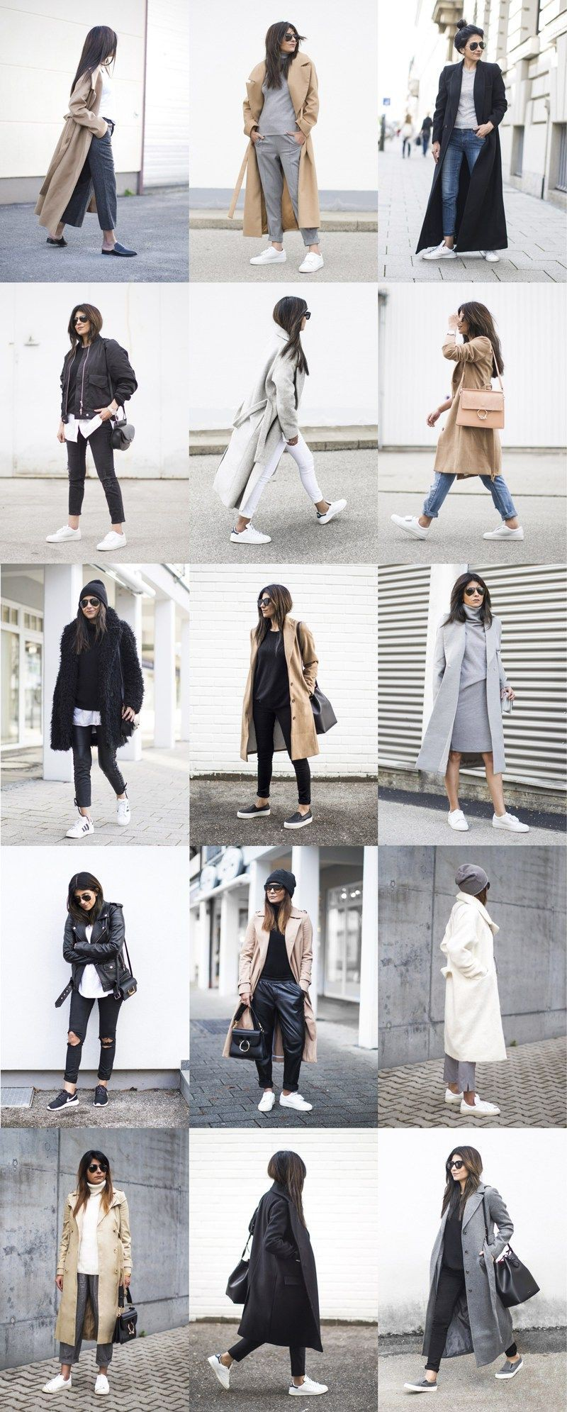 Do you see these minimal outfits, Sports shoes
