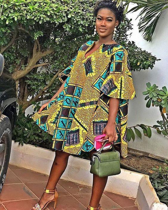 Morden Short African Dresses