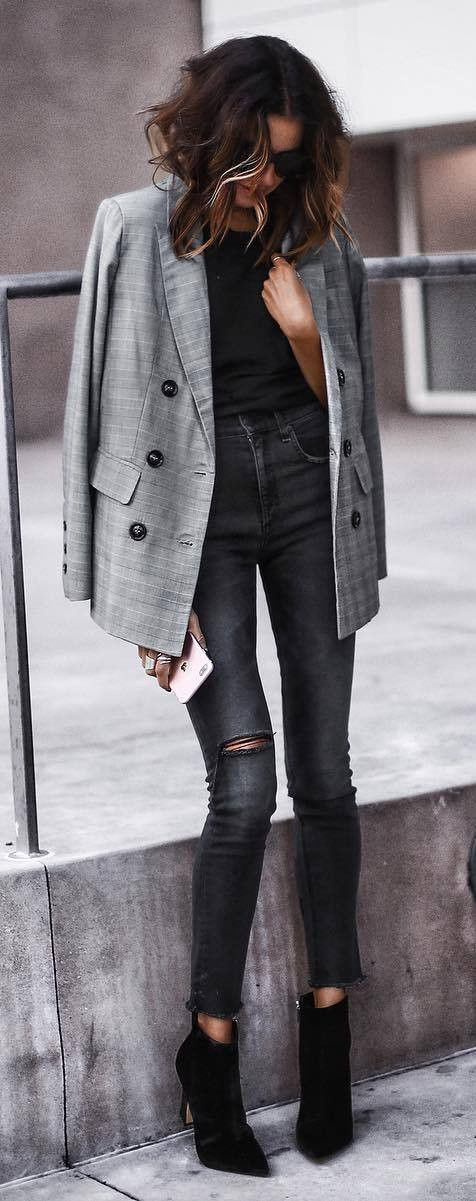 Suit jacket, Plaid Blazer For Teenage Girl winters