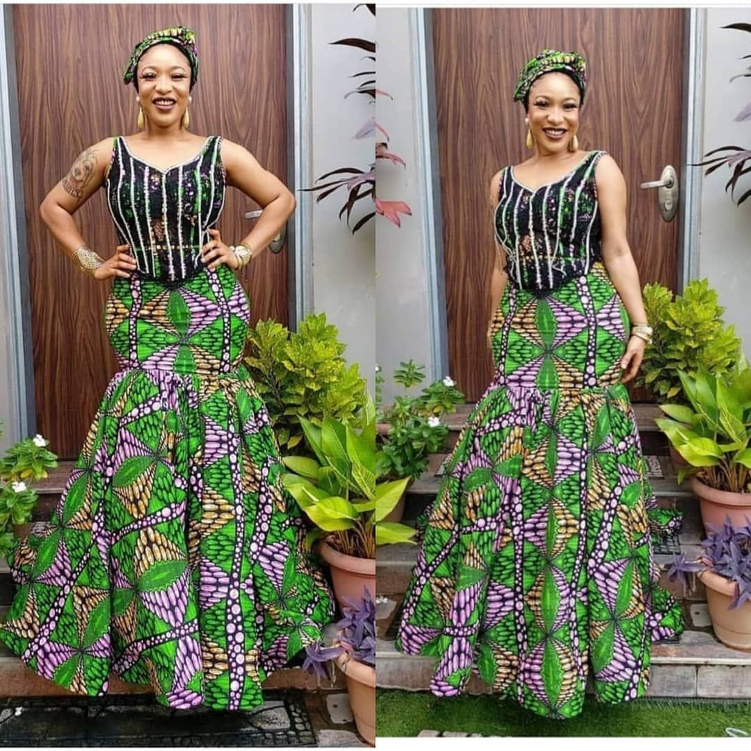 Cute & most liked African wax prints, Aso ebi