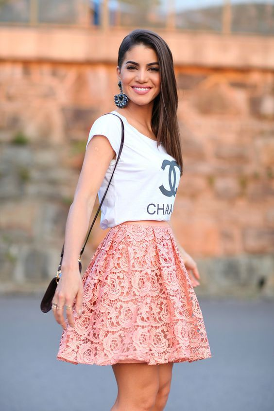 Fine and perfect saias gode curta, Camila Coelho