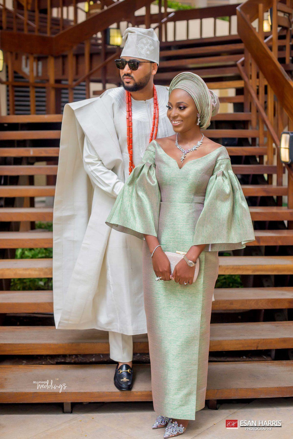 Nigerian Dresses For Nigerian Brides, Wedding dress, Aso ebi
