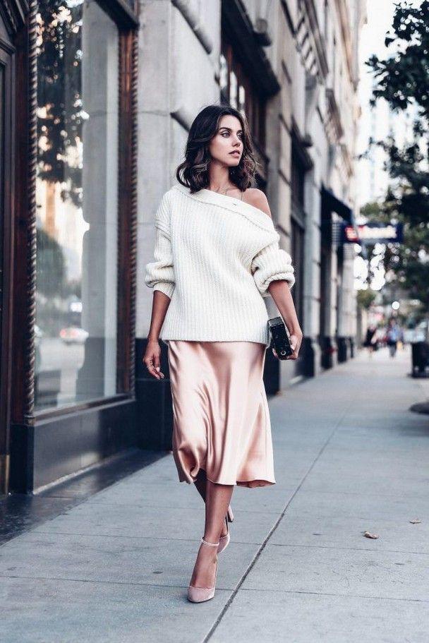 Style silk slip dress