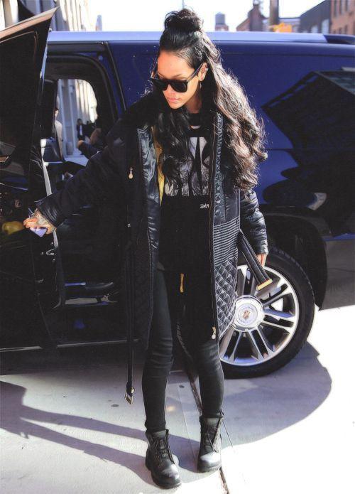 Street style rihanna outfits