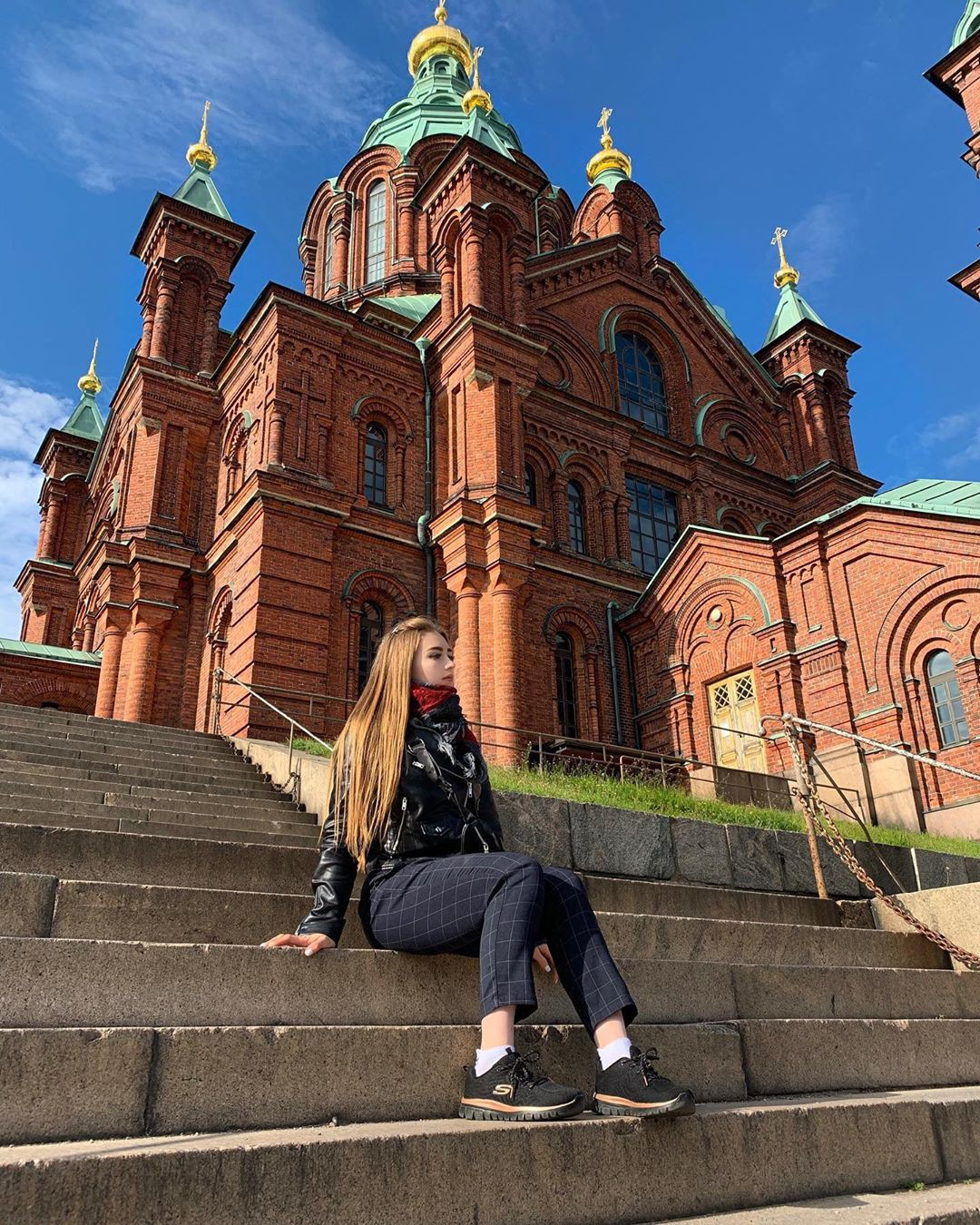 Finally! Love to see uspenski cathedral, Coffeeshop Owner