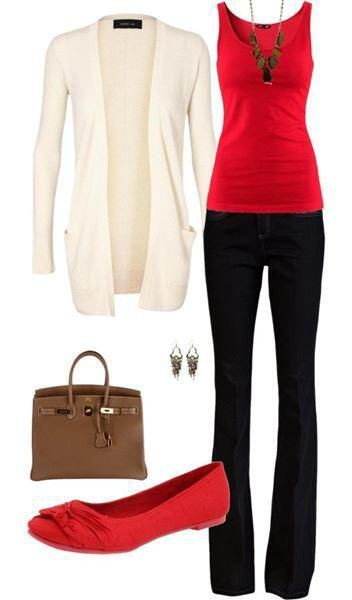 Business casual outfit tank top