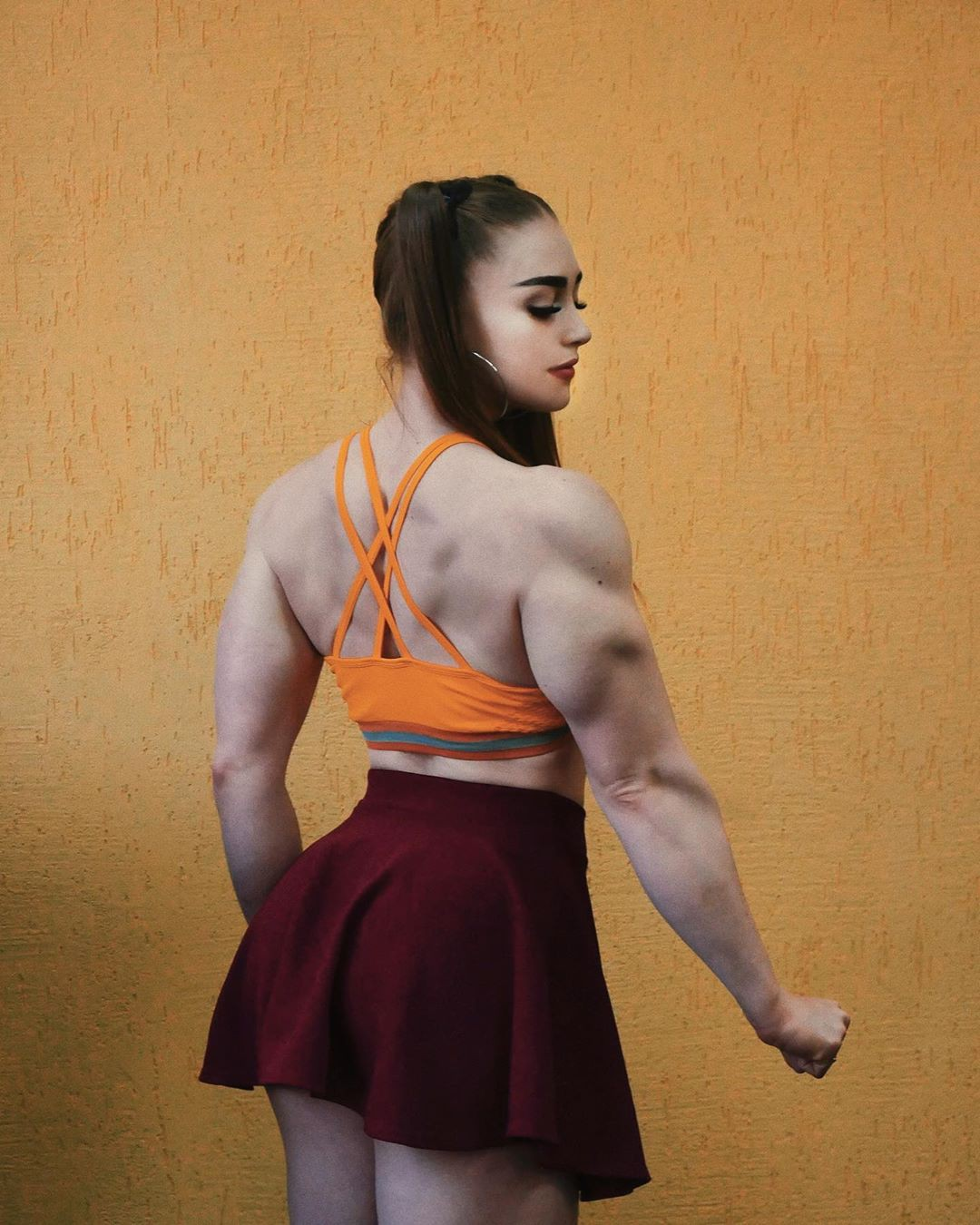 Beautiful and adorable julia vins, Physical fitness