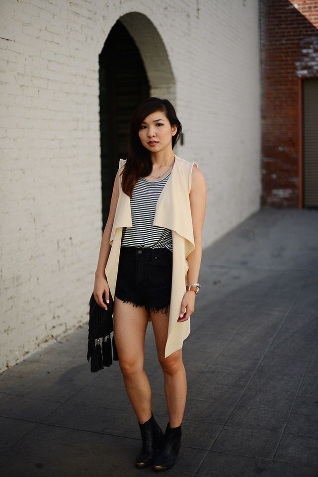 Perfectly designed fashion model, Little black dress