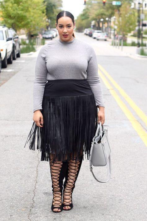 Presentable ideas for Plus-size model, Plus-size clothing