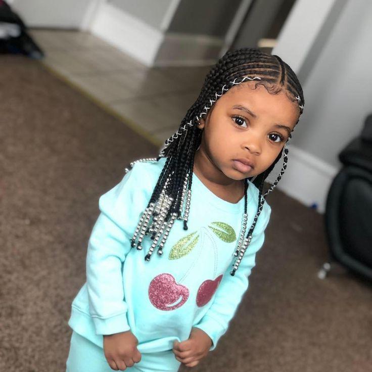 Little Girl Kids Hairstyles Braids Box Braids Hairstyles