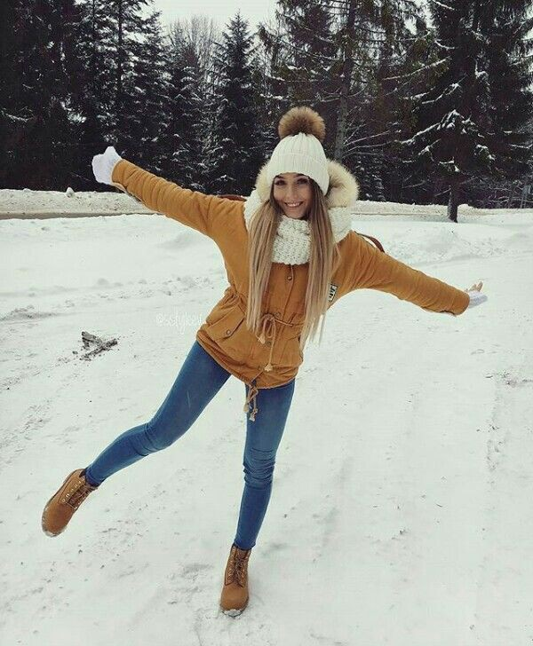 Cute & most liked snow winter outfits 2019, Winter clothing