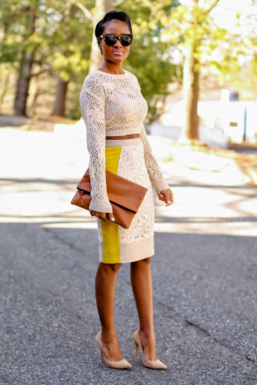 Dating Outfits For Black Girl, Saia Lápis, Pencil skirt