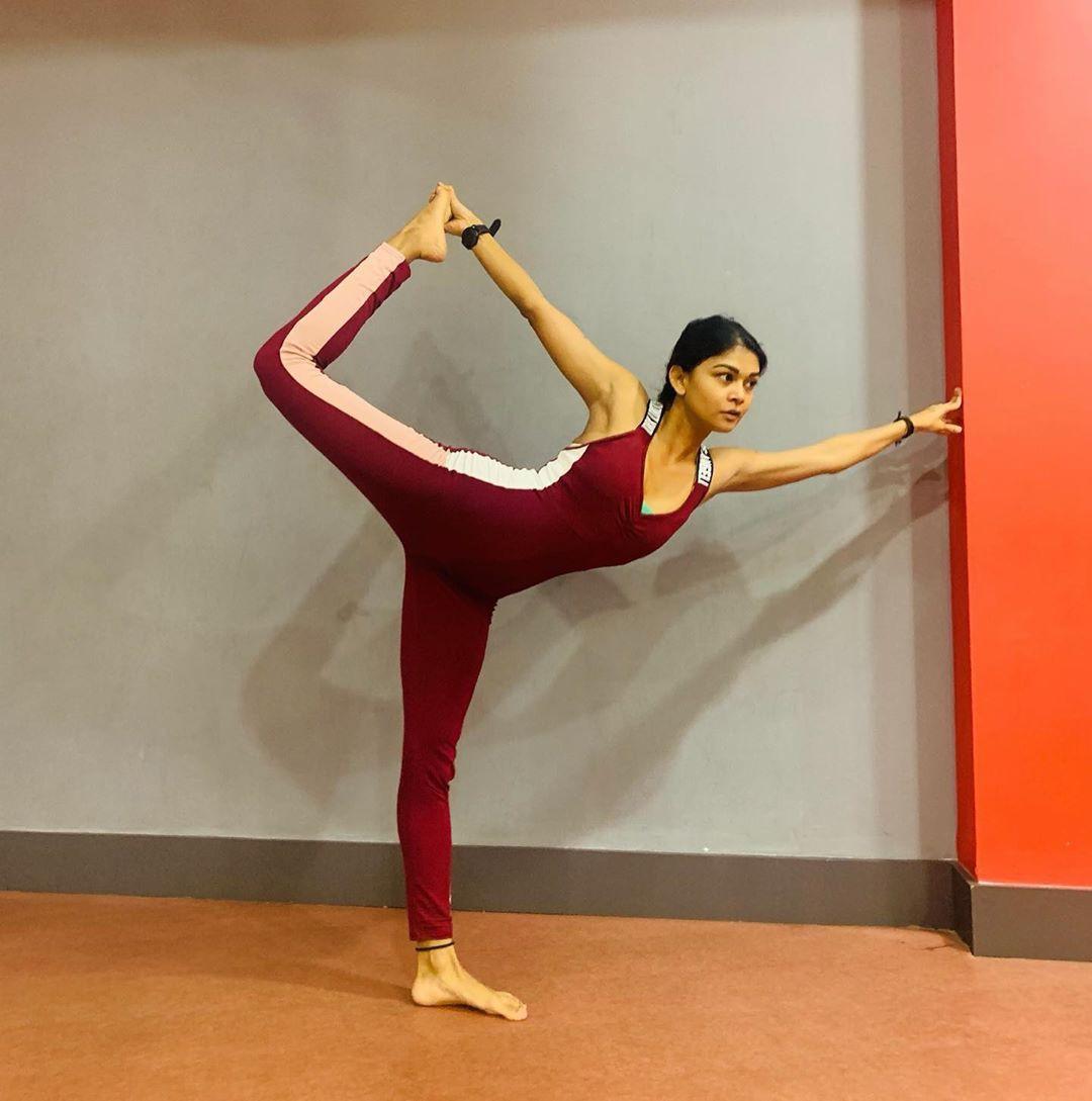 Sakshi Pradhan Physical fitness