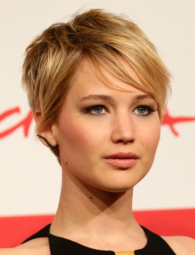 Jennifer lawrence pixie cut, Jennifer Lawrence