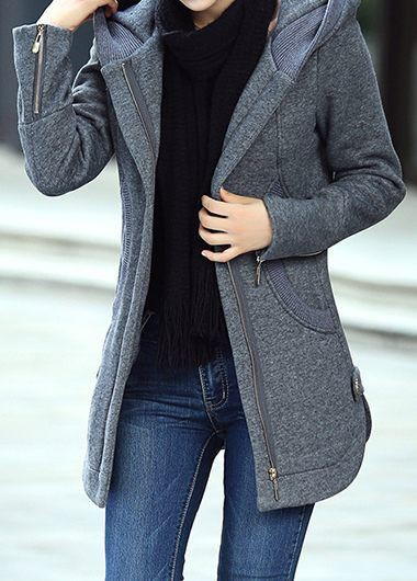 Hooded coat for Women