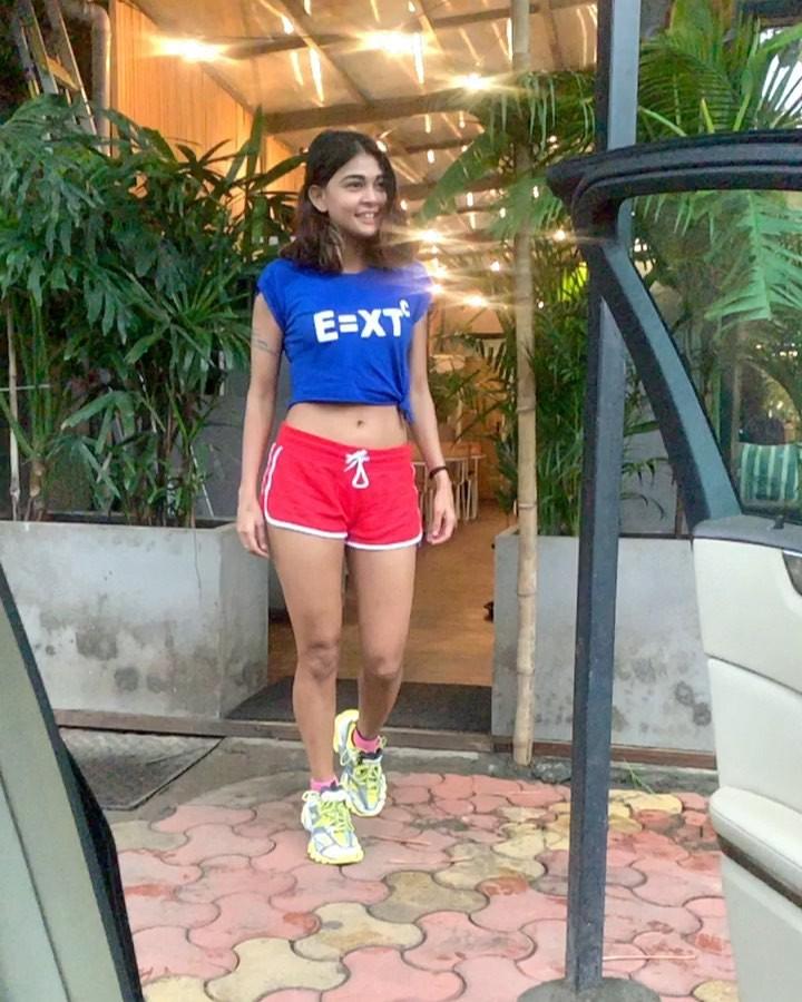 Sakshi Pradhan At Gym