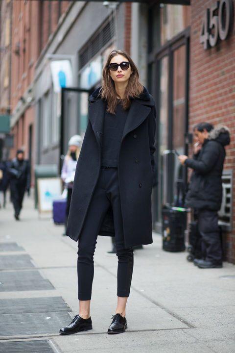 Fall new york street style