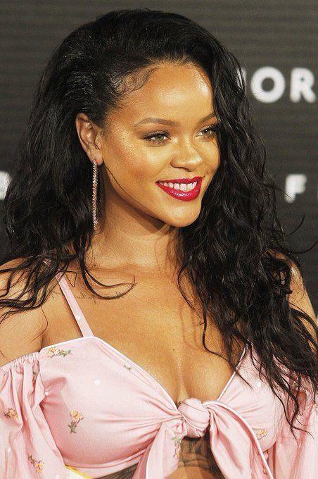 Rihanna fenty beauty launch madrid