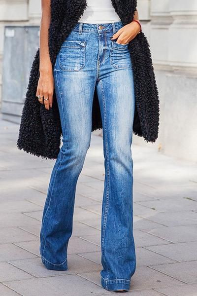 Outfits With Bootcut Jeans, Vintage clothing