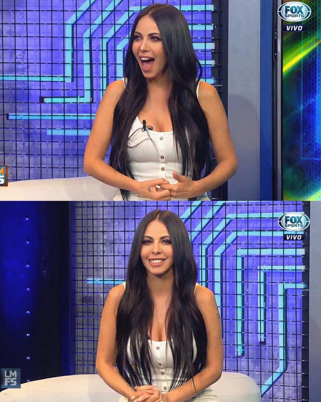Find these black hair, Jimena Sanchez