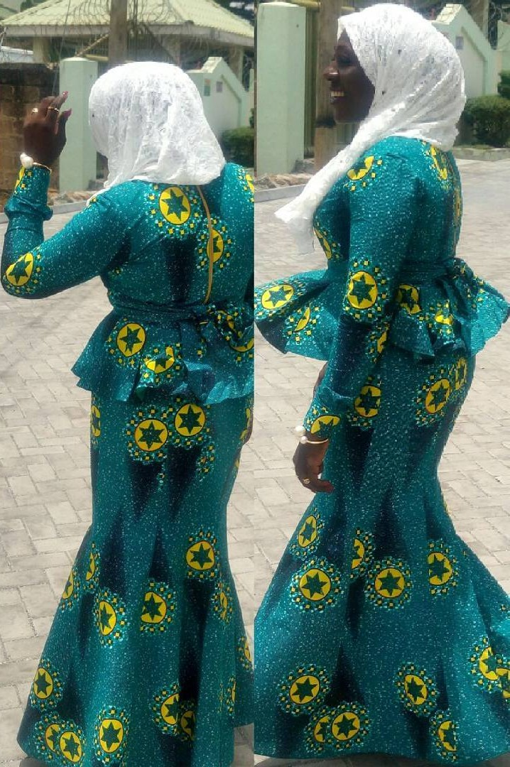 Ghana Kaba Styles, African wax prints, African Dress