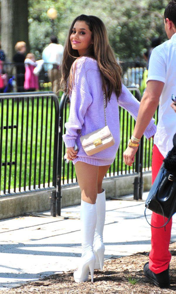 Ariana grande heels height