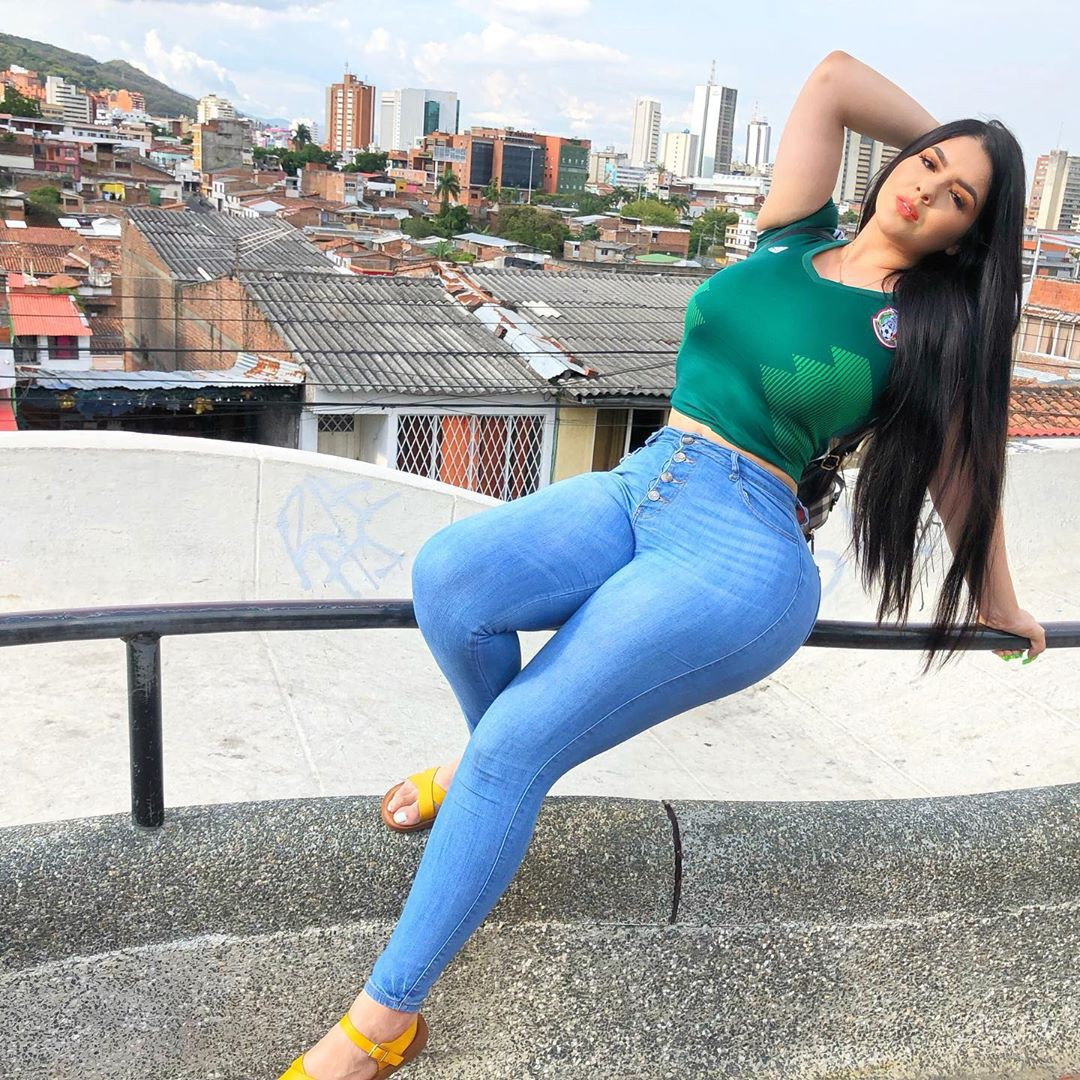 Graciela Montes Model, In Those Jeans