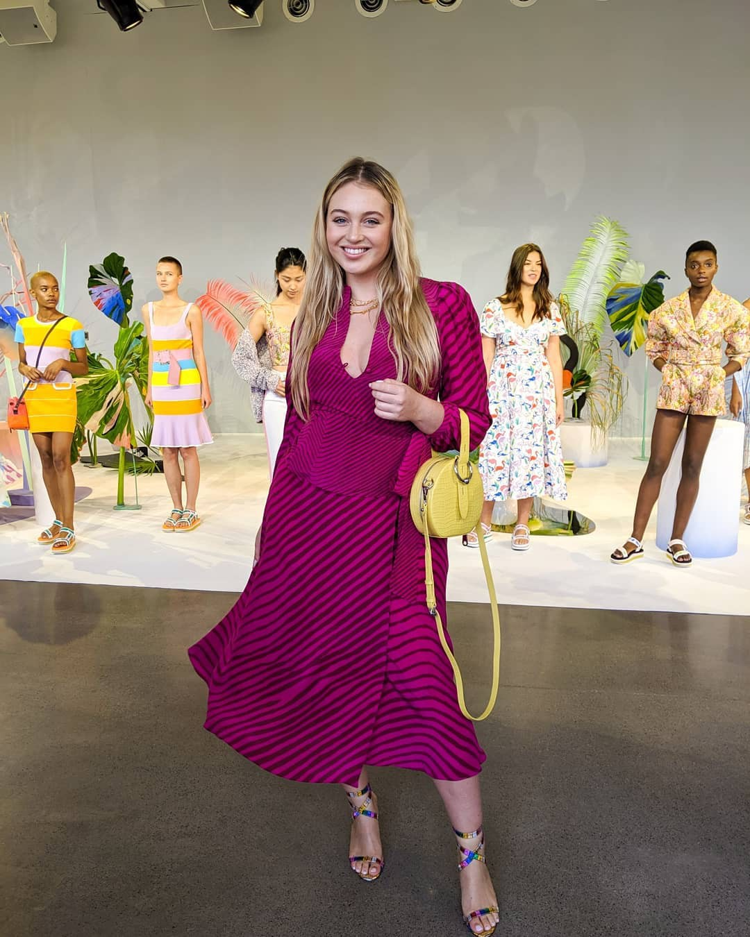 Iskra Lawrence at Fashion show