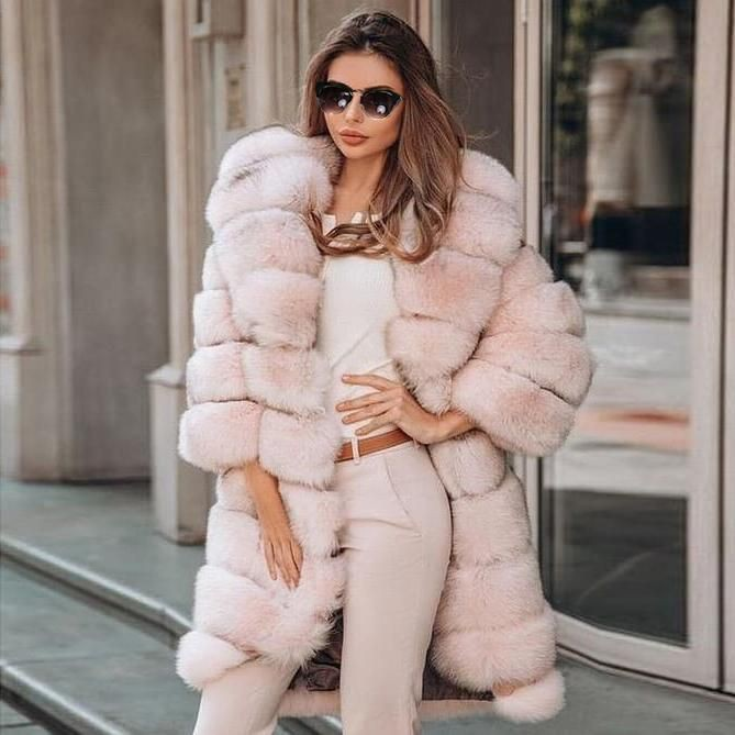 See these incredible fur clothing, Fake fur