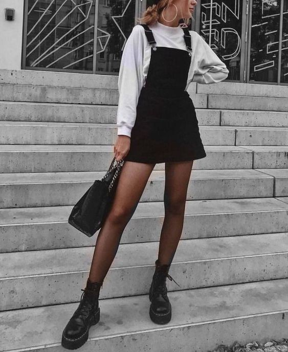 Alt girl cute outfit, Grunge fashion