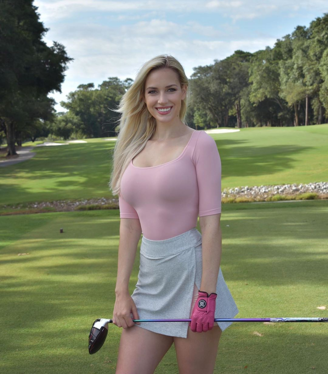 You should check these paige spiranac, Professional golfer