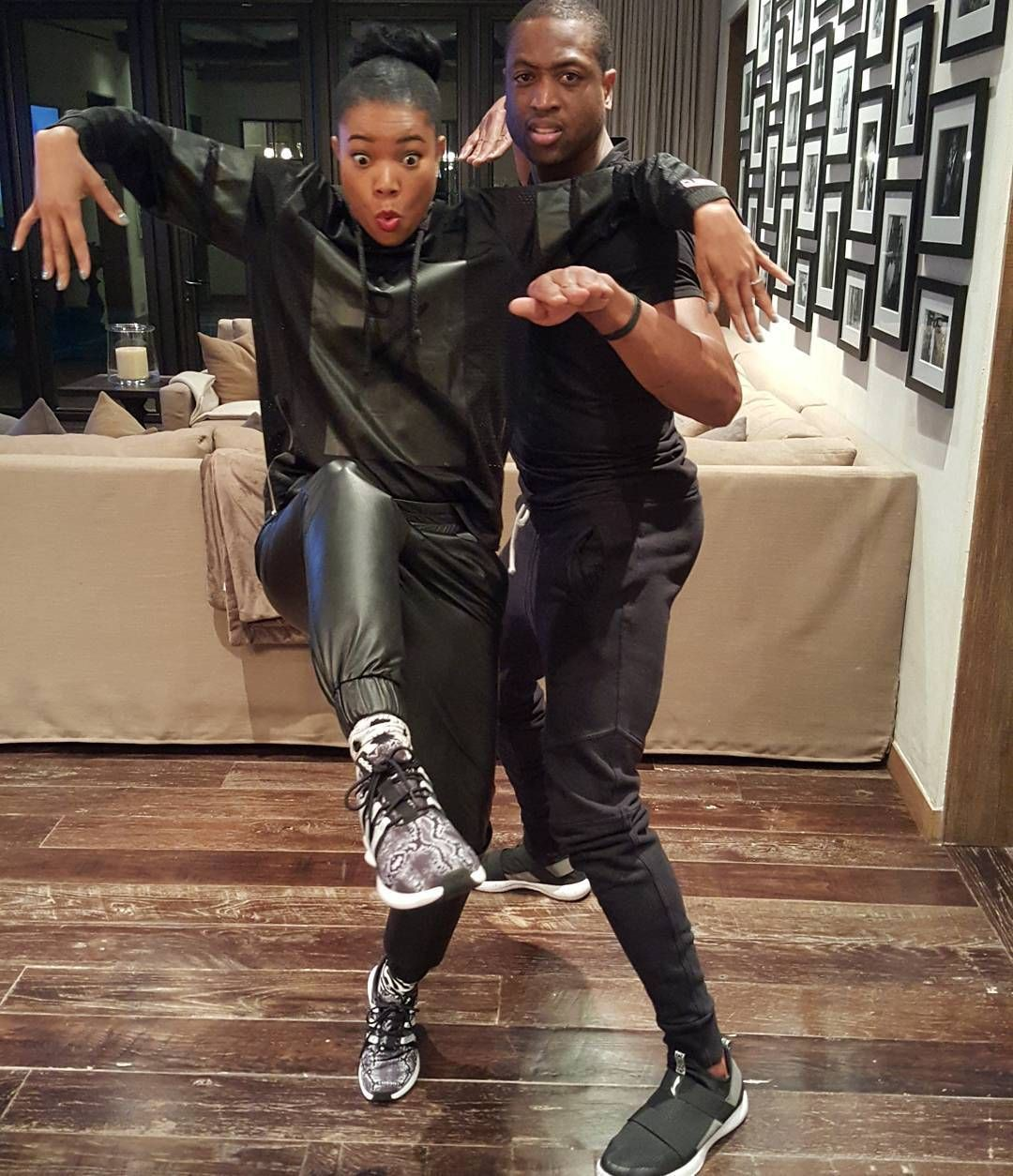Cute gabrielle union and dwyane wade