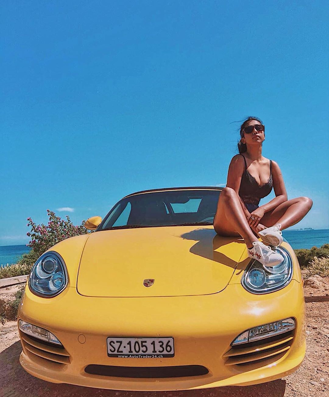 Adorable design porsche boxster, MTV Splitsvilla