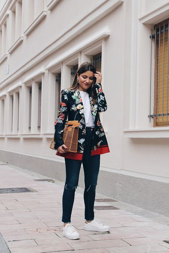 Casual Blazer Outfits Female