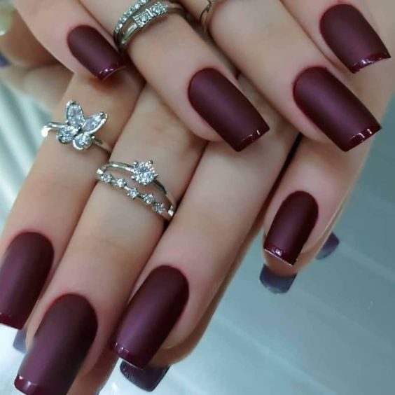 Best and adorable unhas francesinhas, Nail art