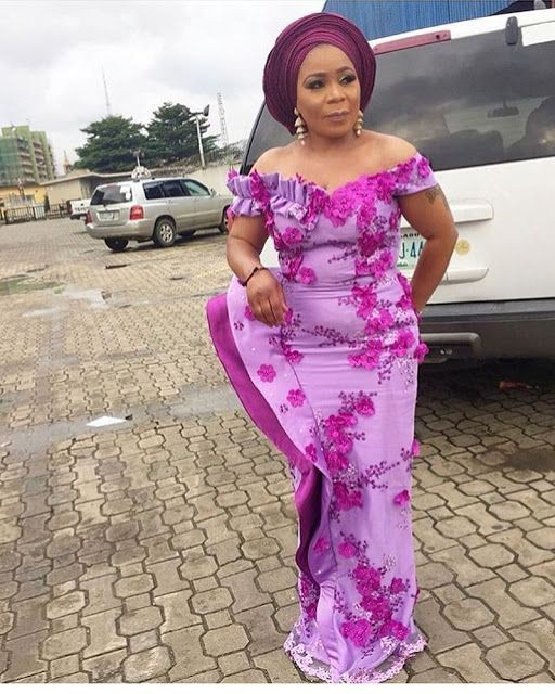 Lace Aso Ebi Styles, African wax prints