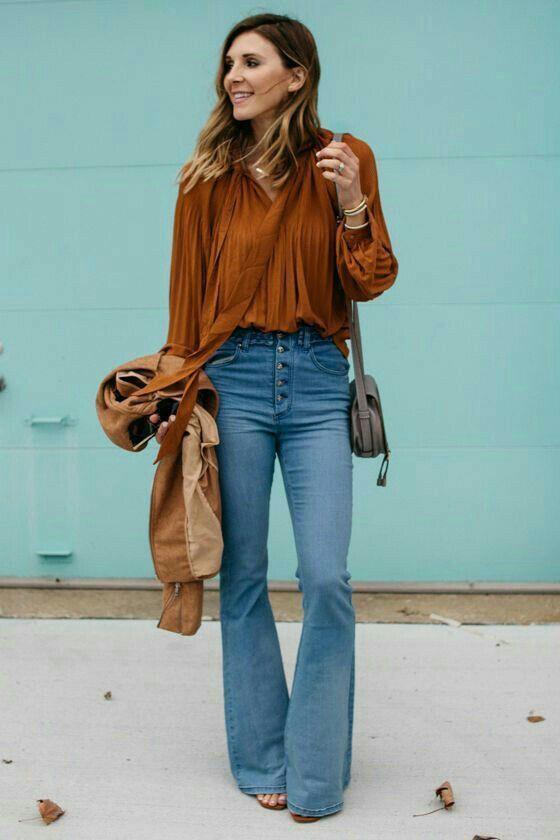 Jeans no visual do trabalho 10 combinações interessantes para te inspirar guita moda