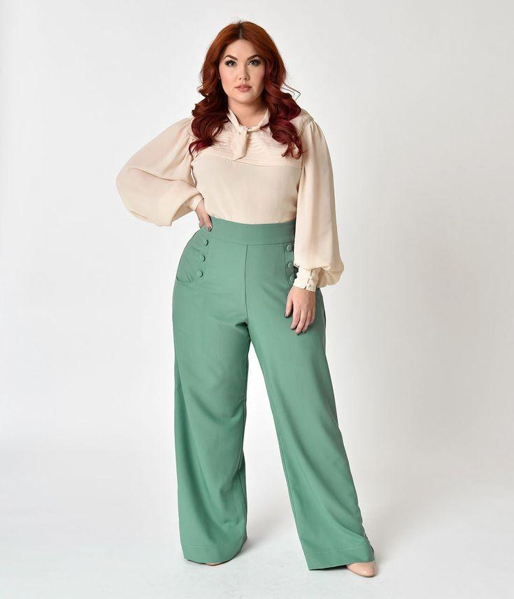 Plus Size Work Outfit, Unique Vintage, Plus-size clothing