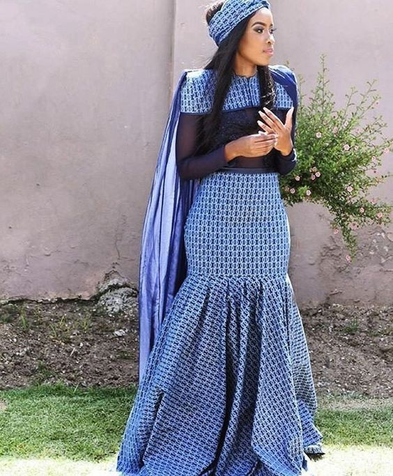 Outfit of the year tswana wedding dress