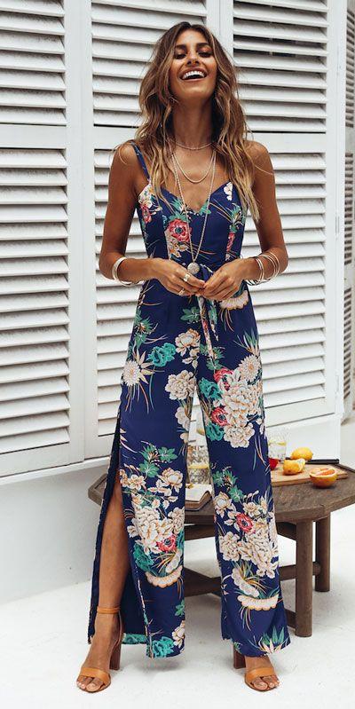 Some most adorable combinaison femme florale, Romper suit