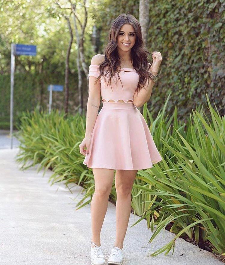 Vestidos casuales rosa palo, Casual wear
