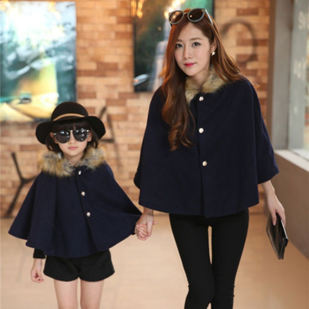 Daughter matching mother and daughter outfits