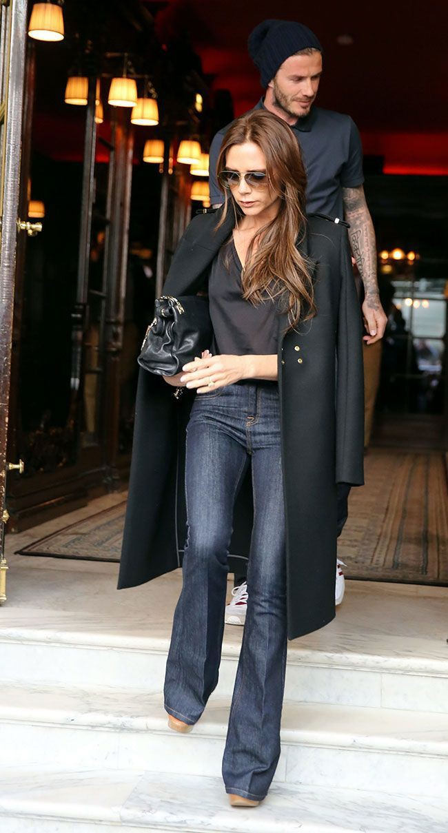 Out of universe jean bootcut style, Victoria Beckham