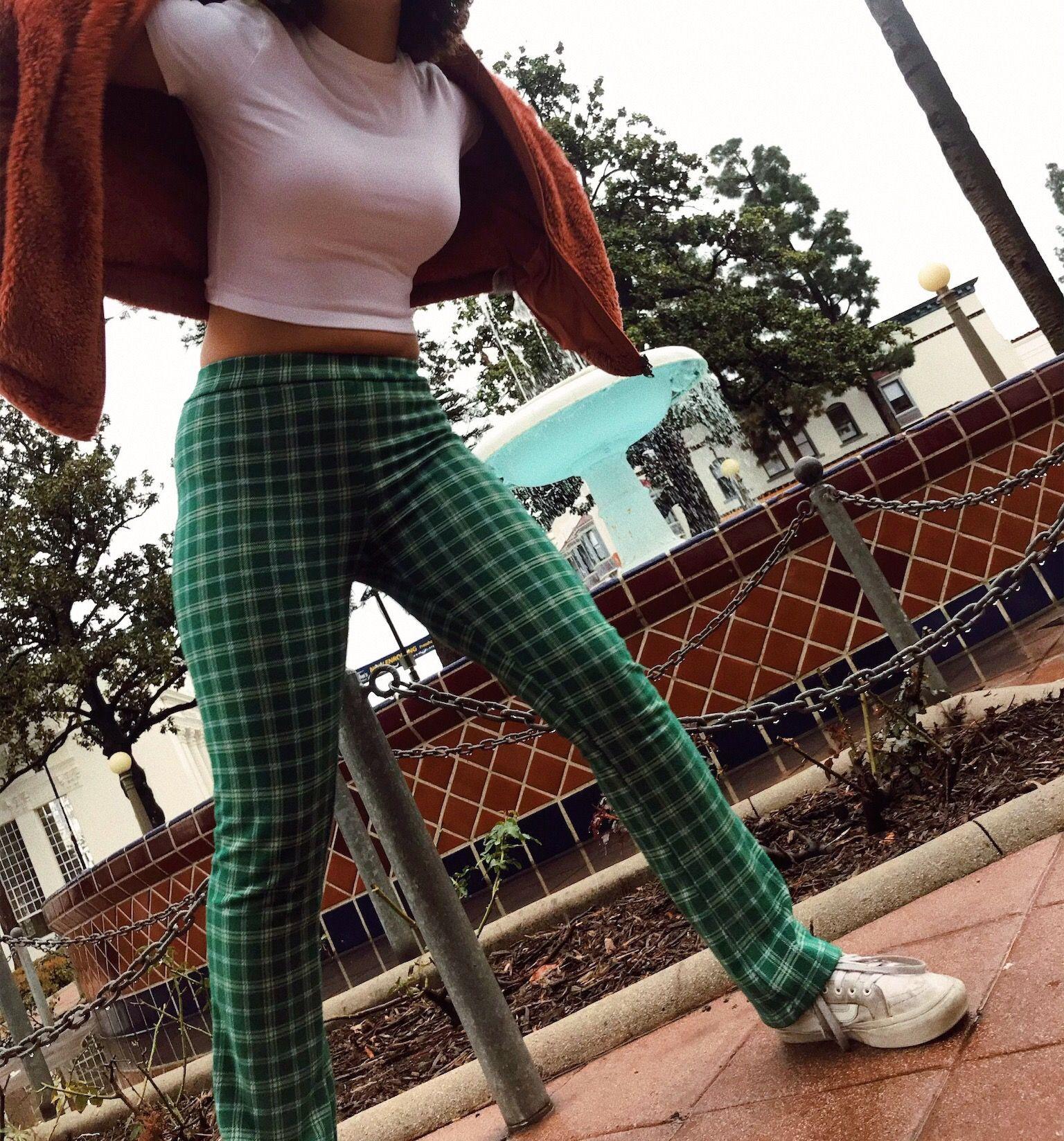 Emma Chamberlain Emma Chamberlain Plaid Pants, Urban Outfitters, Haley Pham