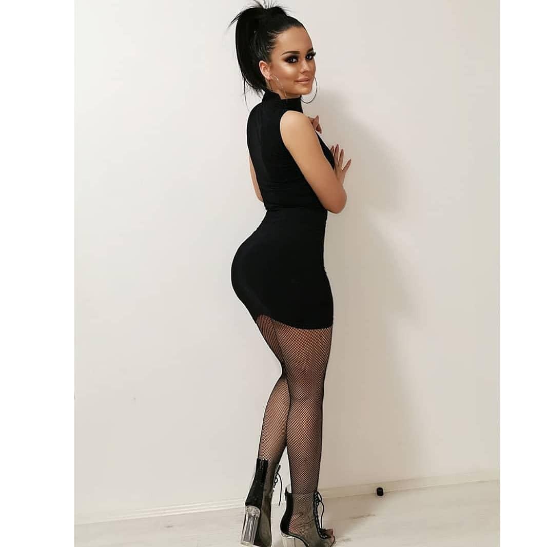 Find out more on fashion model, Little black dress
