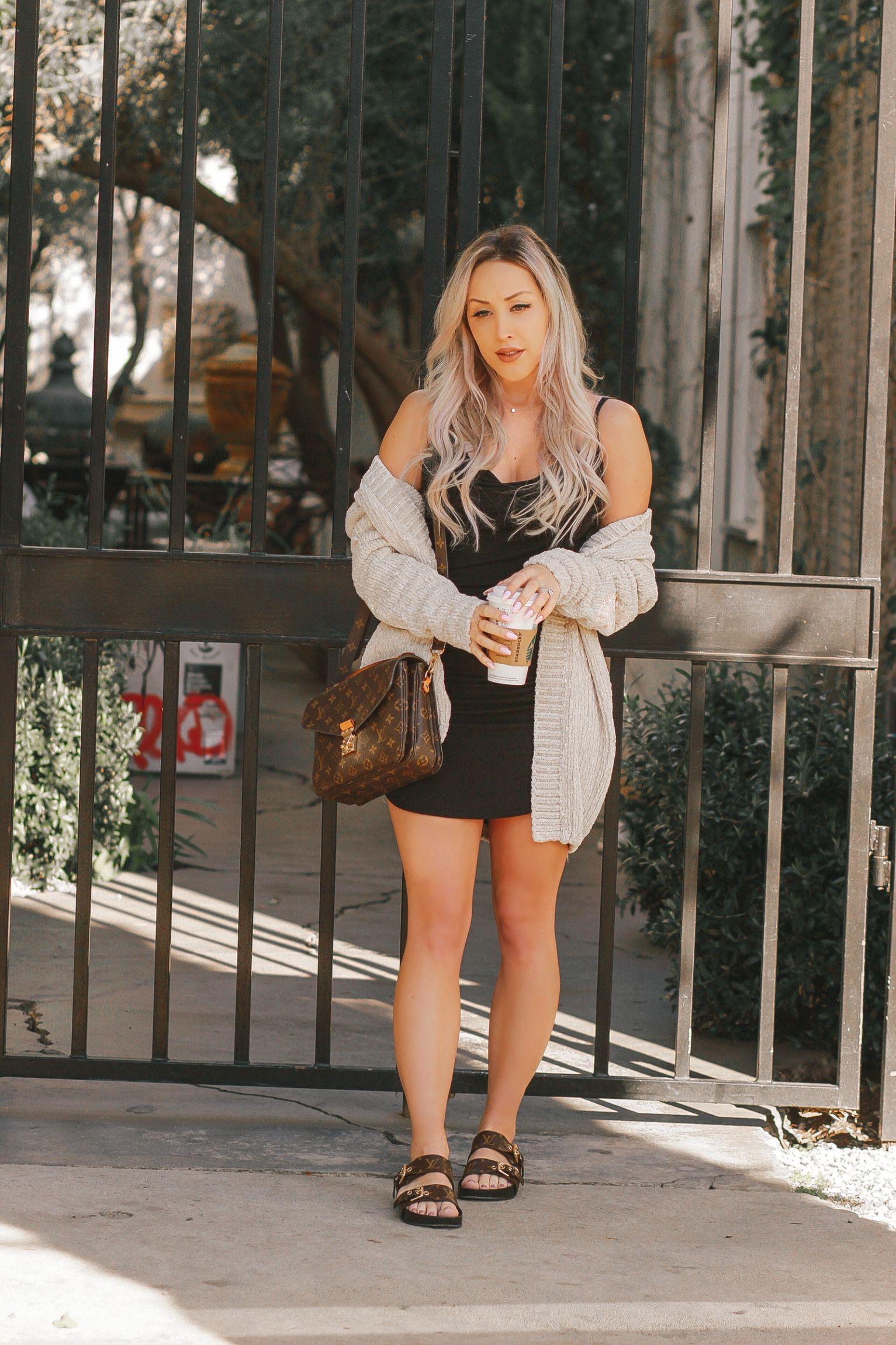 Cute Outfit Ideas For Teenage Girl, Little black dress, Louis Vuitton Metis