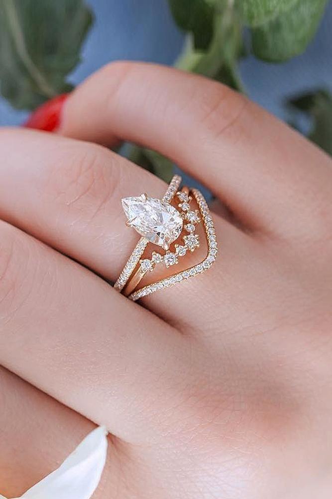 Stylish Wedding Rings, Wedding ring gold, Diamond Wedding Band